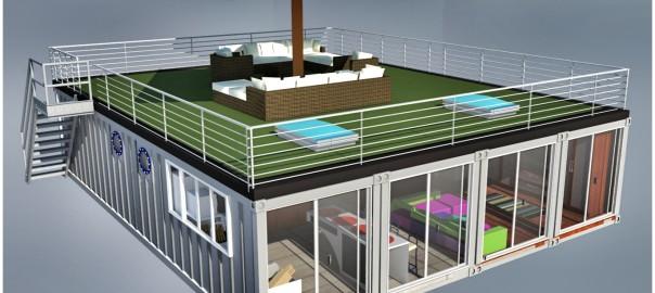 Case Container Design Moderno: Casa contenedor marítimo container architecture pinterest cases ...